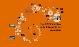 Los 12 Elementos de la fotografía