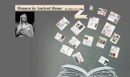 Women in Ancient Rome by Julia Birnbach on Prezi