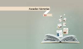 Copy of Copy of Escuelas Literarias