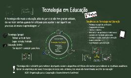 Tecnologia em Educação