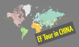 EF Tour in CHINA