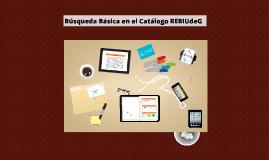 Búsqueda Básica en el Catálogo REBIUdeG (Versión detallada)