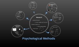 Psychological Methods