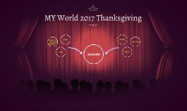 MY World 2017 Thanksgiving