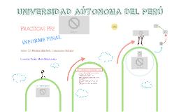 Copy of INFORME FINAL: APLICADO A LA EMPRESA DE TRANSPORTES INTERPROVINCIAL CONSORCIO MALEÑO S.A.C