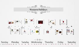 Western Holidays