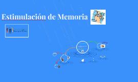 Estimulación de Memoria