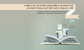 Copy of Compare the ways family relationships are presented and deve