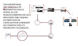 TRANSPORTADORMECATRÓNICO DE MOVIMIENTO LINEAL VERTICAL CON