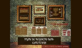 PLAN DE NEGOCIO BAR - CAFETEÍA