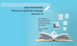 Back to School Parent Presentation 2017/18