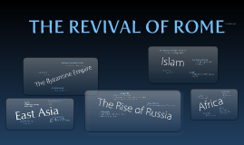 Copy of The Revival of Rome