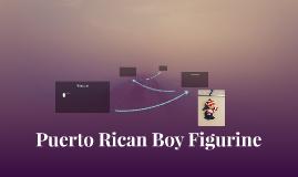 Puerto Rican Boy Figurine