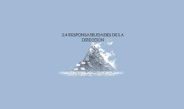 3.4 RESPONSABILIDADES DE LA DIRECC