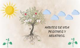 Copy of Habitos de vida positivos y negativos.