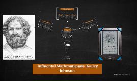Mathmaticians