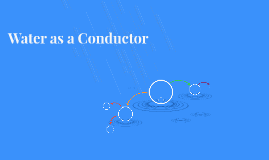 Water as a Conductor