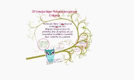 Copy of 20 CONSEJOS SUPER-HONESTOS PARA JOVENES CRISTIANOS