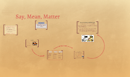 Say, Mean, Matter (copy/revised)