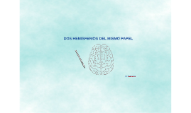 Dos hemisferios del mismo papel