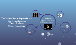 Microexpressions: The Role of Facial Expressions in Emotion