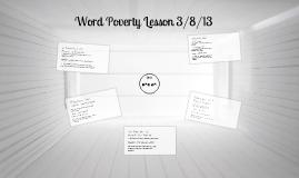 Word Poverty