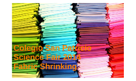 Copy of Fabric Shrinking