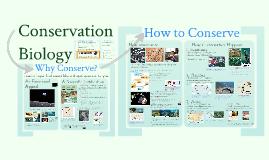 AP Bio Prezi 49 - Conservation Biology
