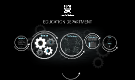 ISM EDUCATION DEPARTMENT OVERVIEW