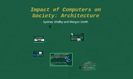 the impact of computerization on the society Abstract the impact of computer-related input on firm productivity is not well understood in the developing world, including china the present study contributes to this area by analyzing data collected from a sample of shanghai manufacturing enterprises.