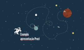 Exemplo apresentação Prezi