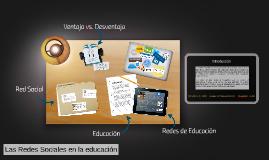 Las Redes Sociales en la educación