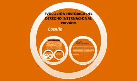 Copy of Evolución Histórica del Derecho Internacional Privado