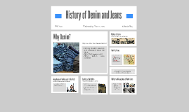 History of Denim and Jeans