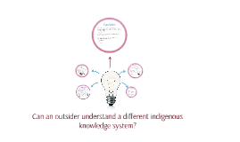 Can an outsider understand an indigenous knowledge system?