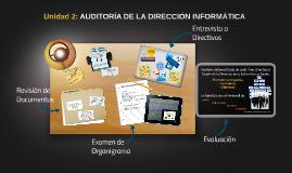 Unidad 2 Auditoria de la Direccion