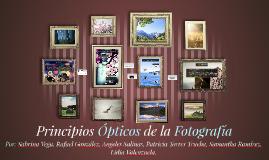 Principios Ópticos de la Fotografía