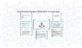 Community Project 2016-2017 A road map