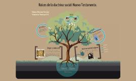 Copy of Raíces de la doctrina social: Nuevo Testamento.