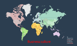 Copy of Business culture in Colombia
