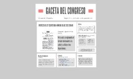 GACETA DEL CONGRESO
