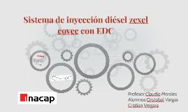 Sistema de inyección diésel zexel covec con EDC