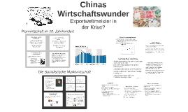 Chinas Wirtschaftswunder