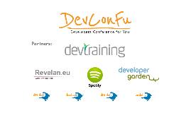 DevConFu2013 presentation v1.1