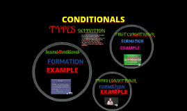 Copy of FIRST, SECOND, THIRD CONDITIONAL