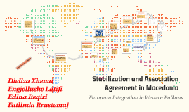 Stabilization and Association Agreement