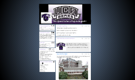 The Quest to UCA