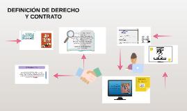 DEFINICIÓN DE DERECHO