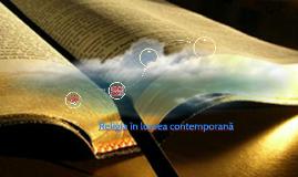 Religia în lumea contemporană