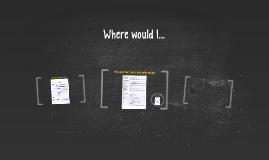 Where would I...